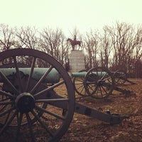 Photo taken at Virginia Monument, Gettysburg Battlefield by Rick B. on 2/19/2012