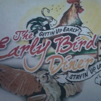 Photo taken at Early Bird Diner by H-J M. on 9/2/2011