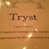Photo taken at Tryst by Katie F. on 4/15/2012