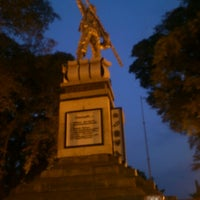 Photo taken at Alun - Alun Pemalang by Indra S. on 8/16/2012