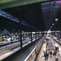 Photo taken at Basel SBB Railway Station by Rebeca B. on 10/30/2011