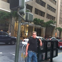 Photo taken at Sansome St. and Bush St. by Jeannie S. on 10/15/2011