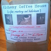 Photo taken at Alchemy Coffee & Bake House by Jessica S. on 1/21/2012