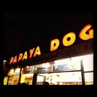 Photo taken at Papaya Dog by Darren M. on 7/18/2012