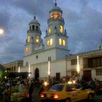 Photo taken at Iglesia san juan nepomuseno by DAVID M. on 1/14/2012