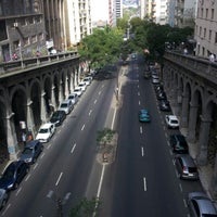Photo taken at Viaduto Otávio Rocha (Viaduto da Borges) by Fernando Gustavo C. on 8/22/2012