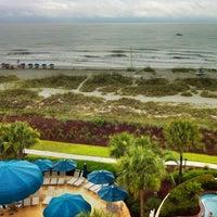 Photo taken at Marriott's Barony Beach Club by Sean B. on 6/9/2012