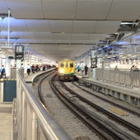 Photo taken at London Blackfriars Railway Station (BFR) by Alistair on 8/20/2012