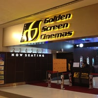 Photo taken at Golden Screen Cinemas (GSC) by Debbie L. on 7/5/2012