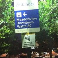 "Photo taken at SACRT Light Rail Zinfandel Station by Charles ""da badge Man"" Watson . on 6/26/2011"
