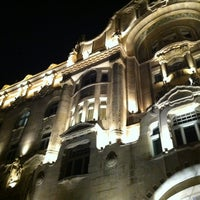 Photo taken at Four Seasons Hotel Gresham Palace Budapest by Brigitte Z. on 10/23/2011