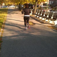 Photo taken at Benches On Ocean Parkway by Jason J. on 11/13/2011