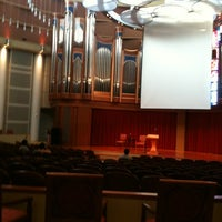 Photo taken at Morris Cultural Arts Center @ Houston Baptist University by Joe F. on 3/30/2012