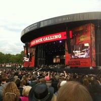 Foto tirada no(a) Hard Rock Calling por Matthew L. em 7/15/2012