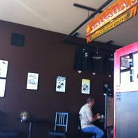Photo taken at Valhalla Coffee Roasters by Marguerite G. on 8/25/2011