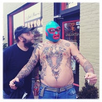 Photo taken at Jack Brown's Tattoo Revival by Jef W. on 11/15/2011
