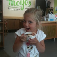 Photo taken at MoYos Frozen Yogurt by Peter L. on 6/13/2011