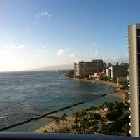 Photo taken at Aston Waikiki Beach Hotel by Franklin B. on 12/25/2011