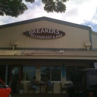 Photo taken at North Shore Breakers Restaurant & Bar by Tim on 7/18/2011