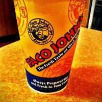 Photo taken at Taco John's by Seth B. on 5/20/2011