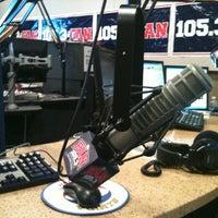 Photo taken at 105.3 The Fan/KRLD FM by Steph B. on 7/18/2011