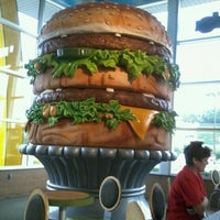 Photo taken at McDonald's (Big Mac Museum Restaurant) by Angela M. on 8/27/2011