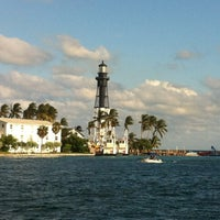 Photo taken at Hillsboro Inlet Lighthouse by Gui C. on 10/23/2011