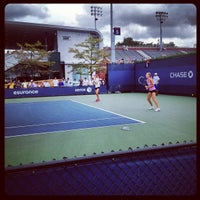 Photo taken at Court 5 - USTA Billie Jean King National Tennis Center by Rob on 8/27/2012