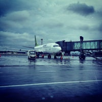 Photo taken at RIX | Terminal D by Bea T. on 9/1/2012
