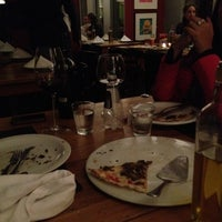 Photo taken at Vinícius Pizzaria by Marcella C. on 5/8/2012