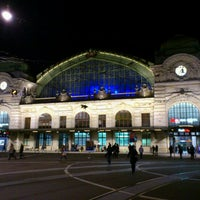 Photo taken at Basel SBB Railway Station by Dome B. on 12/8/2011