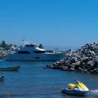 Photo taken at Marina Riviera Nayarit by Álo G. on 4/7/2012