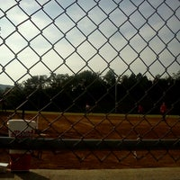 Photo taken at Tom's Creek Softball Field by Ashley S. on 7/2/2012