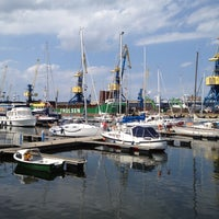 Photo taken at Hafen Wismar by Andrea J. on 6/30/2012