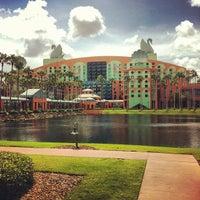 Photo taken at Walt Disney World Swan Hotel by Jeff C. on 8/5/2012
