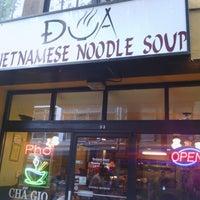 Photo taken at Dua Vietnamese Noodle Soup by Michael B. on 5/2/2012