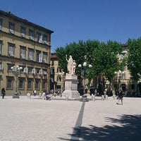 Photo taken at Piazza Napoleone by Irina M. on 5/2/2012