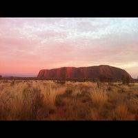 Photo taken at Uluru by Adam T. on 9/9/2012