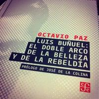 Photo taken at Librería Del Fondo De Cultura Economica by Mario C. on 6/28/2012