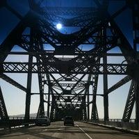 Photo taken at Richmond-San Rafael Bridge by Erin M. on 5/12/2012