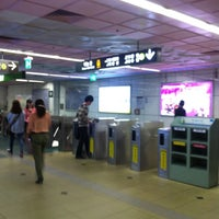 Photo taken at Seomyeon Stn. by Jeff Y. on 5/18/2012