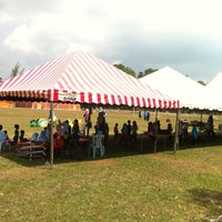 Photo taken at Stadium by Prince Hafizul on 4/19/2012