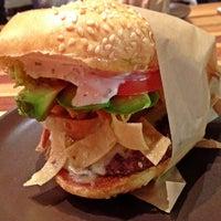 Photo taken at Roam Artisan Burgers by Sara A. on 8/20/2013