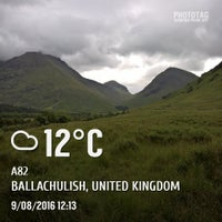 Photo taken at Glencoe Visitors Centre by Nick S. on 8/9/2016