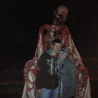 Photo taken at Ruby Falls Haunted Caverns by Sandi D. on 10/28/2012
