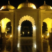 Photo taken at Sheraton Udaipur Palace Resort & Spa by Saagar H. on 1/10/2013