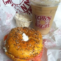 Photo taken at Town Bagel by Kevin R. on 6/12/2014