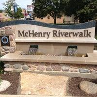 Photo taken at McHenry Riverwalk by Shawn B. on 9/4/2013