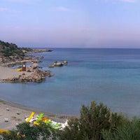 Photo taken at Konnos Beach by Ivan S. on 5/9/2013