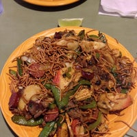 Photo taken at HuHot Mongolian Grill by Mark S. on 11/8/2012